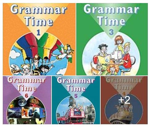 سلسة Grammar Time الرائعة لتعلم قواعد اللغة الانجليزية