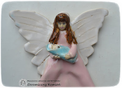 Anioł z dzieciątkiem