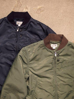 "FWK by Engineered Garments ""Aviator Jacket-Flight Sateen"""