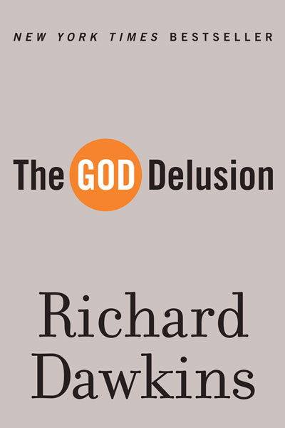 The God Delusion by Richard Dawkins - book cover