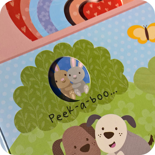Peek-a-boo I Love You Little Learners from Parragon Books