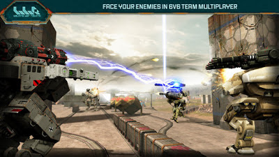 Walking War Robots V1.0.1 MOD Apk-screenshot-3