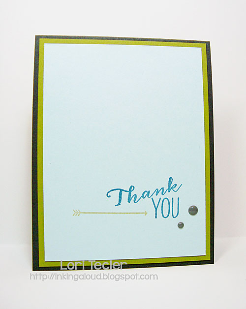 Thank You card-designed by Lori Tecler/Inking Aloud-stamps from Avery Elle