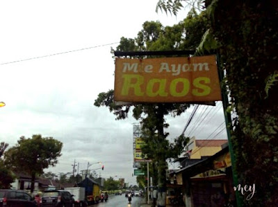 Mencicipi Mie Ayam Raos di Banjarnegara