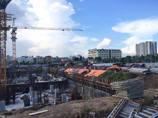 tiến độ chung cư hc golden city 2