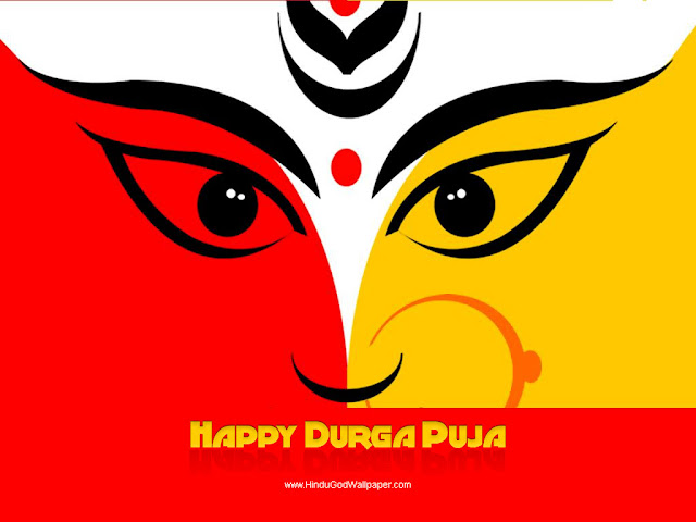 Happy Durga Wallpaper