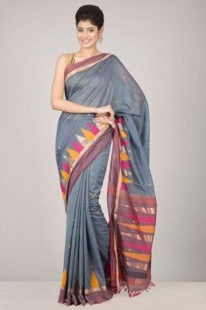 Elegant Bangalore Cotton Saree