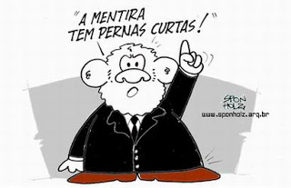 Lula mentiroso