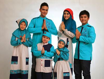 desain Model baju keluarga