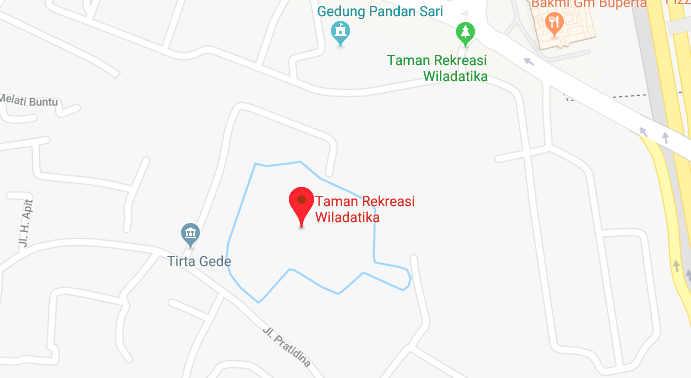 Peta Lokasi Kantor Grab Cibubur di Google Maps