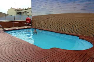 La piscina del Hotel Rull.