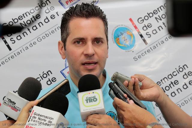 GobNdeS William Villamizar Laguado lamenta y repudia el secuestro de Liliana Fernández Cañizares #RSY #OngCF #CFN