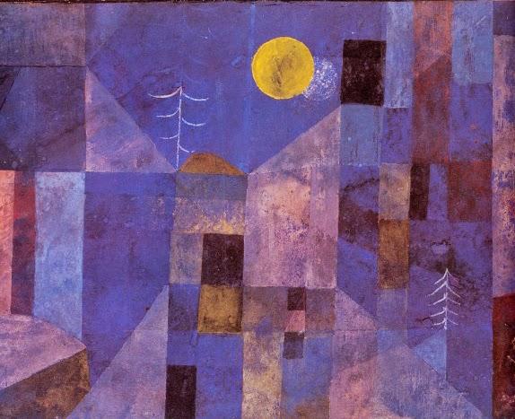 Luar - Paul Klee - (Expressionismo) Suíço