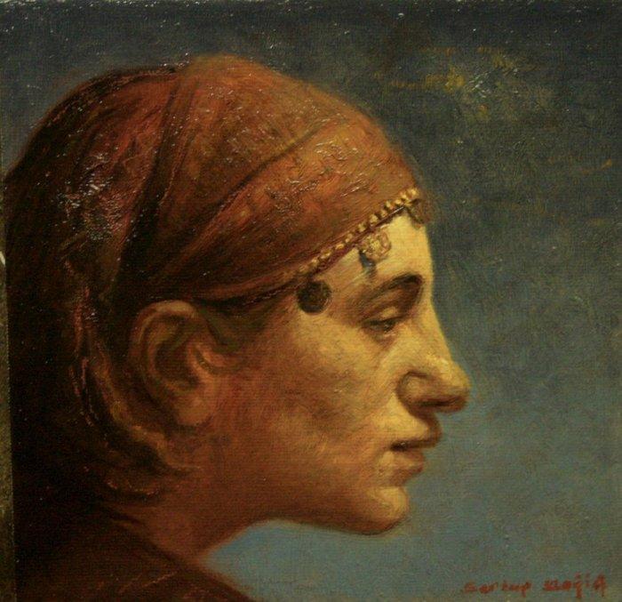 Турецкий художник. Sertap Yegin