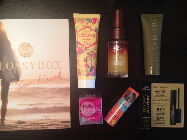 August 2016 Glossybox