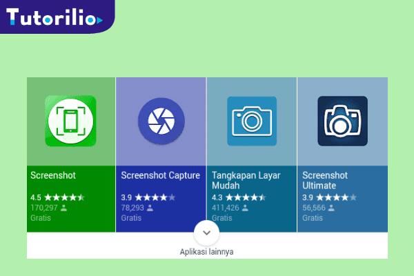 Aplikasi screenshot android, aplikasi screenshot gratis, cara screenshot pakai aplikasi,