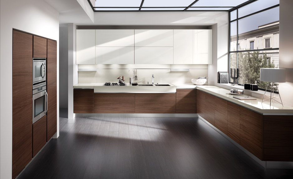 Cocinas angulares prcticas y eficientes  Cocinas con estilo