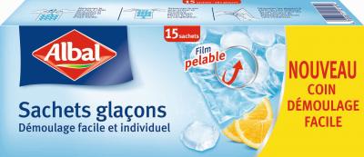 SACHETS GLACONS ALBAL