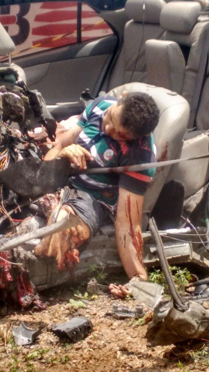 Acidente grave na BR 405 deixa uma vítima fatal entre José da Penha e Riacho de Santana