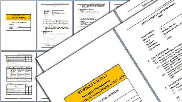Silabus dan RPP Kelas 4 SD Kurikulum 2013 Revisi 2019-2020