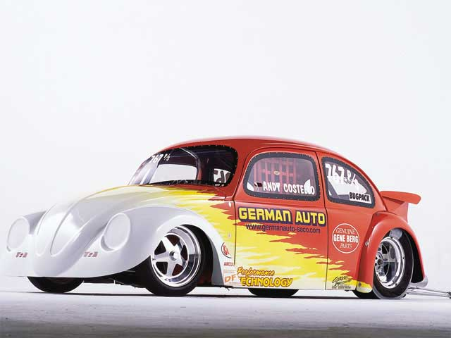 Gambar  Mobil Drag VW Kodok Beetle