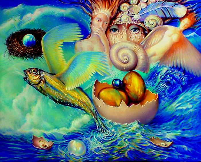 Символизм в живописи. W.A. Di Bolgherese 21