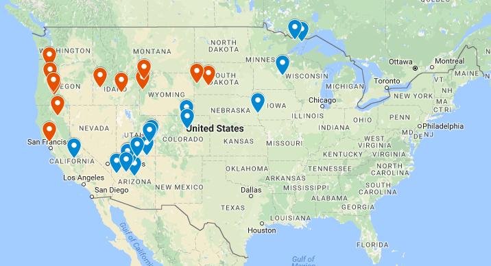 Daniel's Blog: Road Trip USA (Summer 2017) on my island map, my va map, my world map, my usa flag,