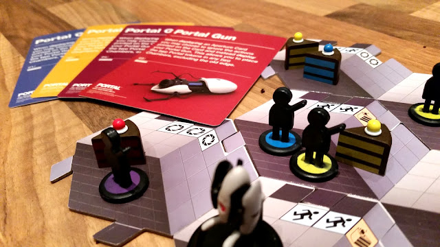 Portal cake aquistion game boardgame review