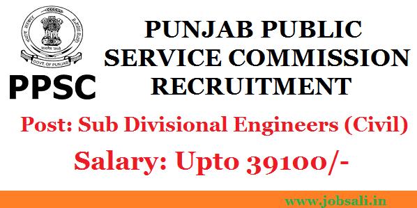 PPSC Notification, Civil Engineering Jobs, Punjab Government jobs