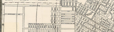 Detail of Henry Rueger map of Los Angeles, 1902