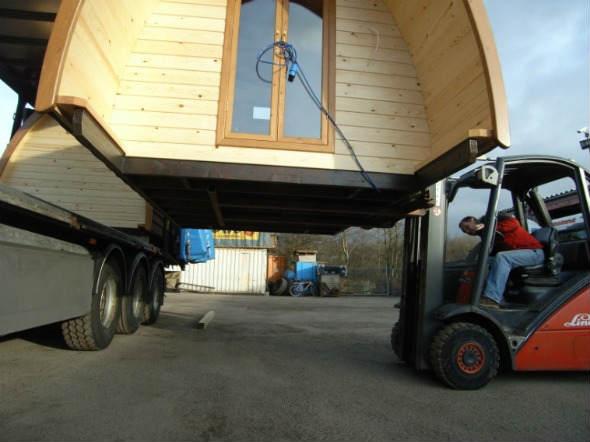Casa prefabbricate in legno senza fondazioni