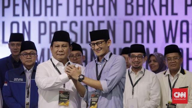 Tim Pemenangan Prabowo Ungkap Visi Dan Misi