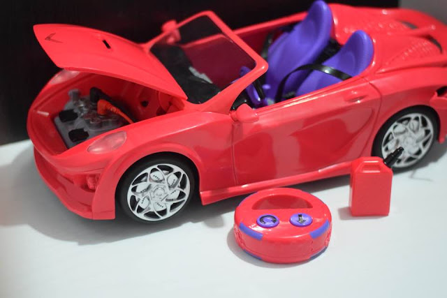 Project Mc² H₂O RC Car - what's in the box