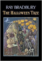 Image of The Halloween Tree on Top Ten Tuesday Childhood Book Characters on Blog of Extra Ink Edits from Writing Consultant and Editor providing editing services for writers, including query critique, synopsis polish,beta reading