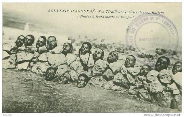 جرائم الاستعمار الفرنسي ضد الامازيغ
