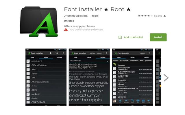 Cara Mengubah Font Pada Android
