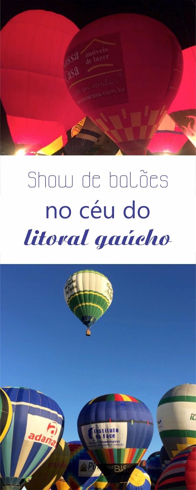 Festival Balonismo em Torres