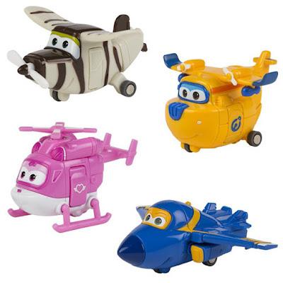 JUGUETES - SUPER WINGS Pack 4 Aviones : Donnie, Jerome, Dizzy y Bello Muñecos - Figuras de tus personajes favoritos SERIE CLAN | Comprar en Amazon España