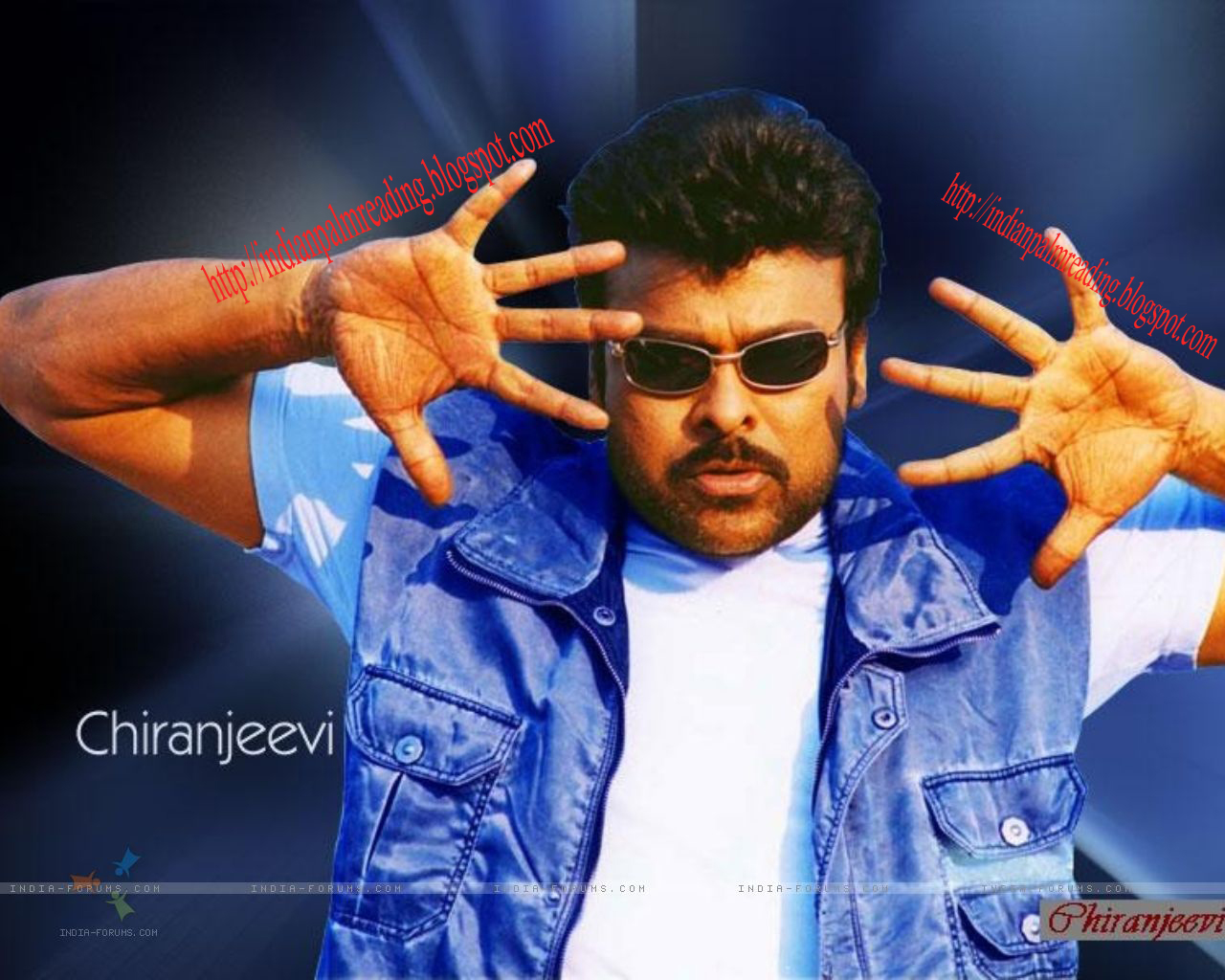 Palm Image Of Chiranjeevi Palmistry Astrology | INDIAN PALM READING