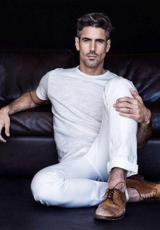 como usar calça branca homem masculina