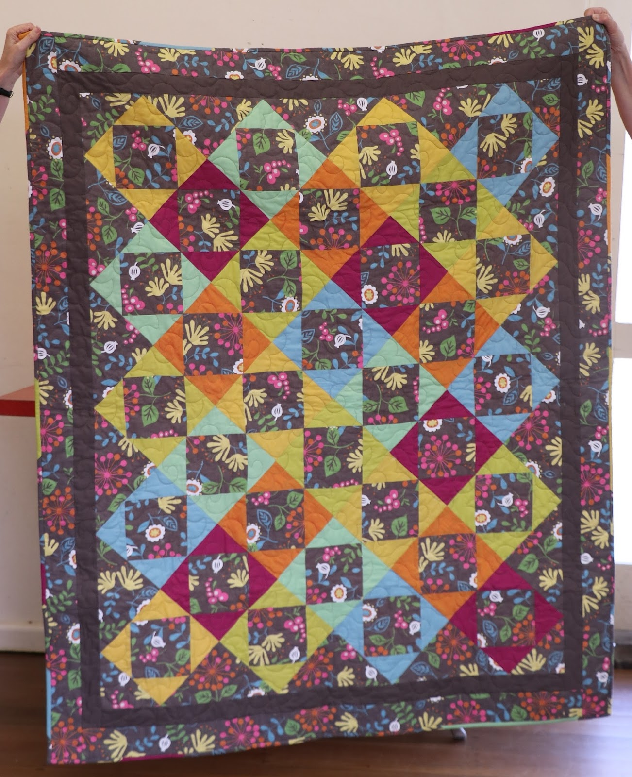 Fairholme Quilters: Show and tell ...
