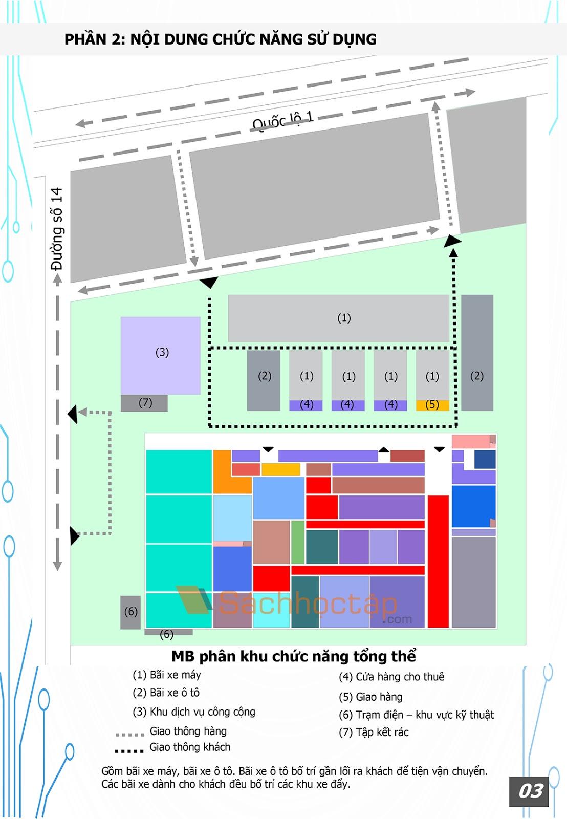 Chuyên đề kiến trúc 4: Kiến trúc thương mại - Dịch vụ: Siêu thị Co.opxtra Plus Thủ Đức - Preview 4