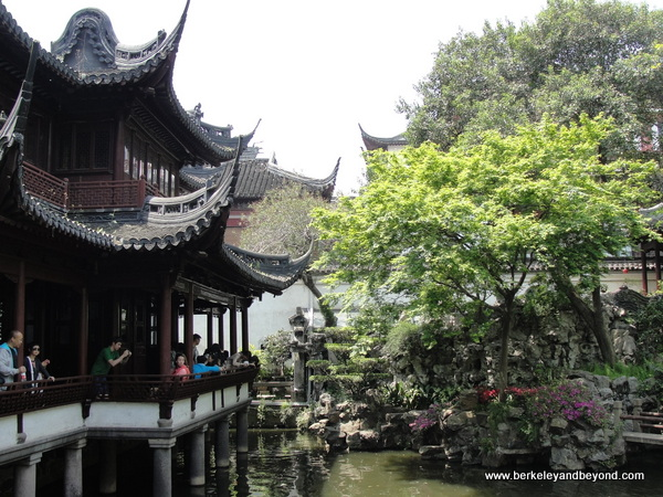 Yuyuan Garden in Old City in Shanghai, China