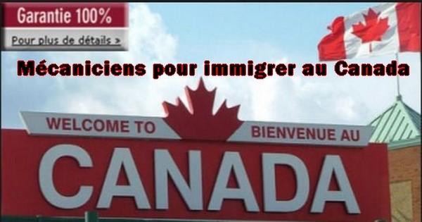 Offre d 39 emploi m caniciens pour immigrer au canada cours d 39 electrom canique - Cabinet de recrutement international canada ...