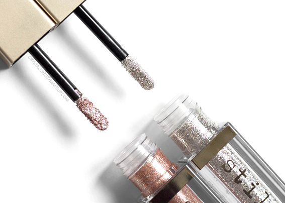 Stila Magnificent Metals Glitter Glow Liquid Eye Shadows Review