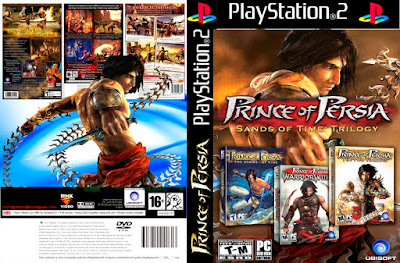 Jogo Prince Of Persia Trilogy PS2 DVD Capa