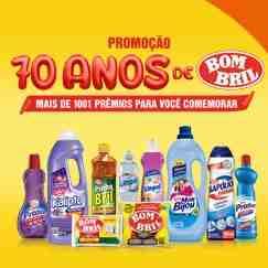 Cadastrar Promoção Pinho Bril 2018 Produto Bombril Aniversário 70 Anos