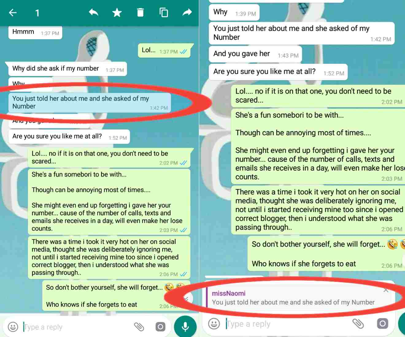 Whatsapp msg tricks