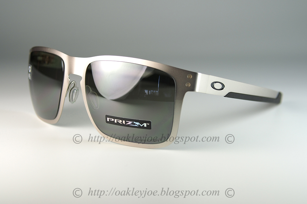 d929d488ba2 OO4123-0955 Holbrook Metal satin chrome + prizm black polarized  295 lens  pre coated with Oakley hydrophobic nano solution complete package comes  with box ...