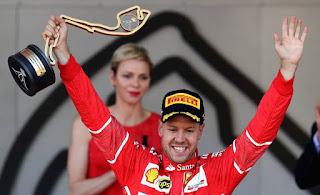 FÓRMULA 1 - El Ferrari de Vettel fue el más rápido en Mónaco, con Carlos Sainz en 6ª posición